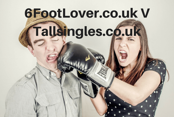 Compare 6FootLover.co.uk to TallSingles.co.uk, online dating, tall singles, tall people