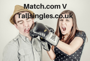 Comparing Match.com to Tallsingles.co.uk, Dating sites, comparison