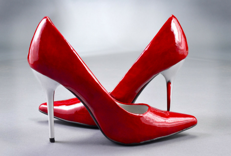 Red shoes, High heels, red high heel shoes