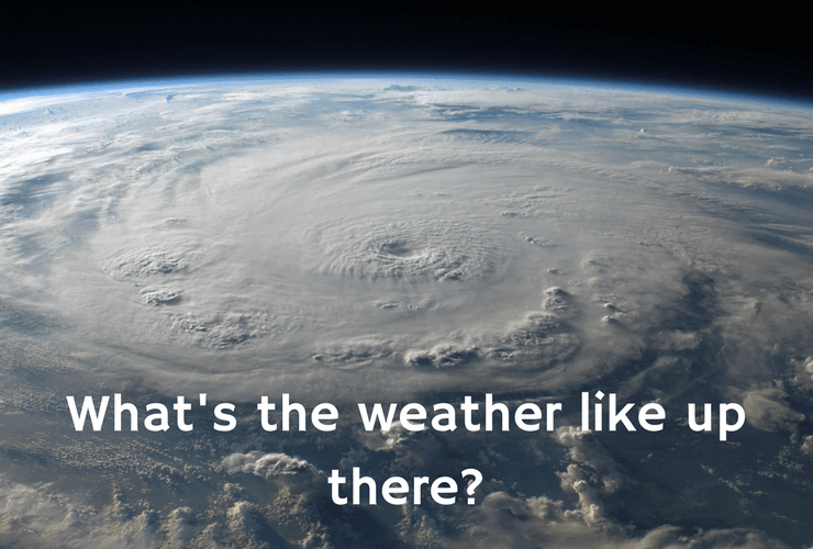 Weather, space, earth from above, weather patterns