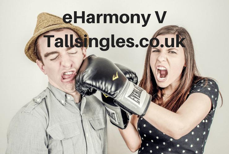 Compare eHarmony to Tallsingles