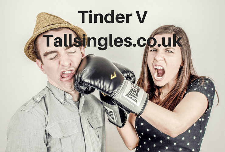 Compare Tinder to Tallsingles