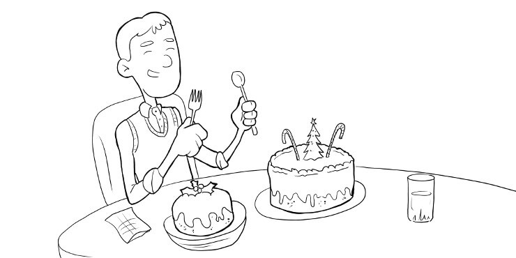 Extra dessert cartoon, tallsingles.co.uk